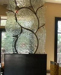 стекло в интерьере