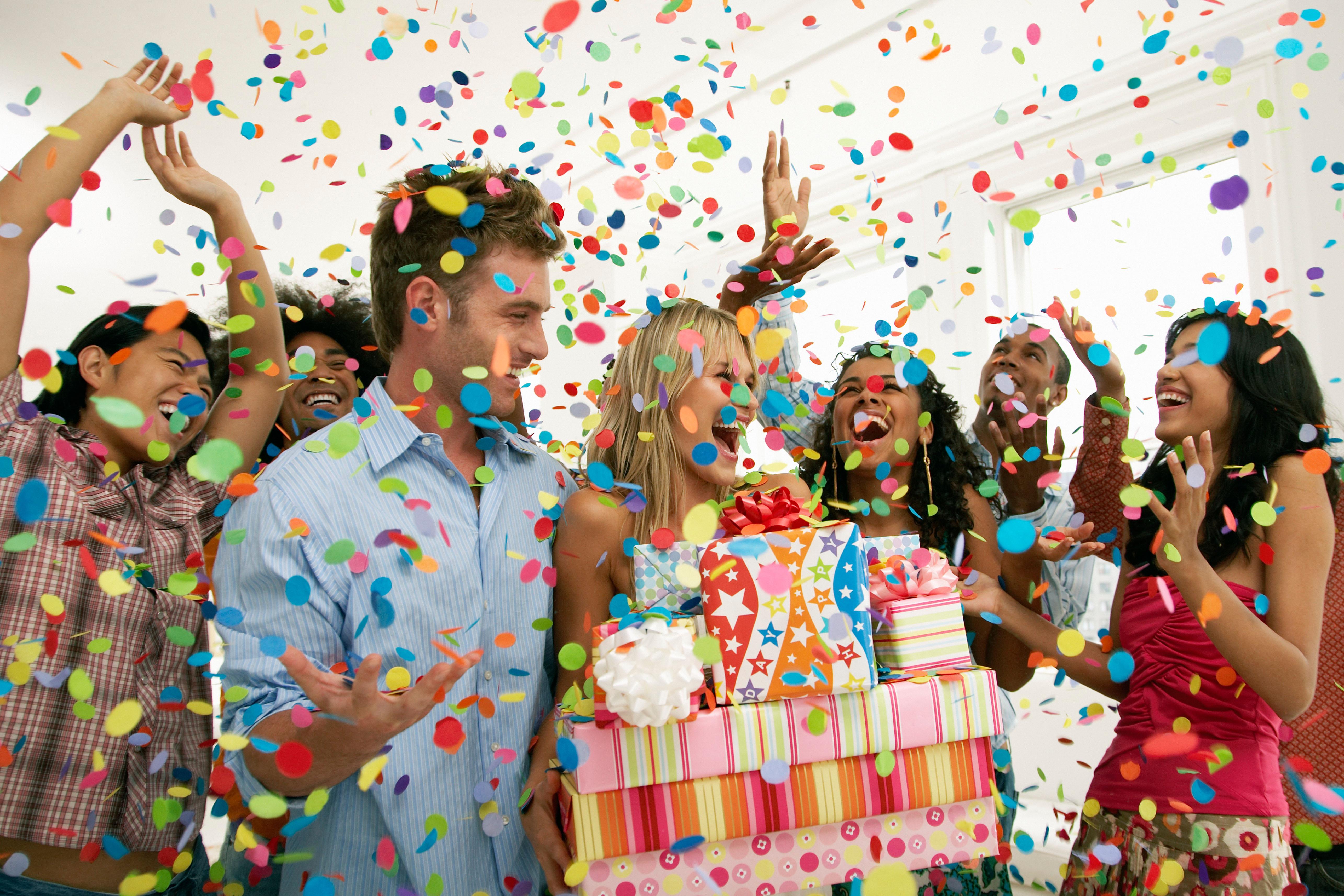 Организация розыгрышей и сюрпризов на день рождения