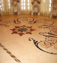 Мозаичные полы из гранита — отличный способ украсить ваш дом
