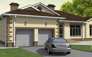 Преимущества одноэтажных домов с гаражом
